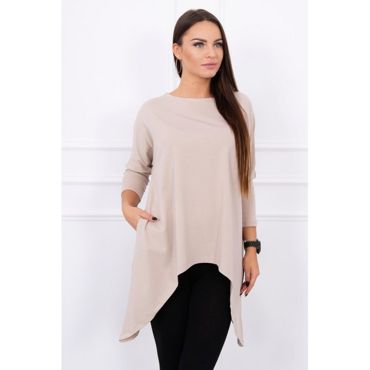Extended tunic MI8875 beige