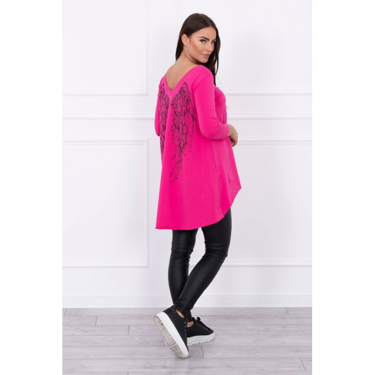 Tunic with wings MI0089 fuxia