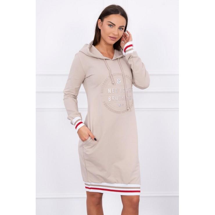 Ladies Dress Brooklyn MI62095 beige