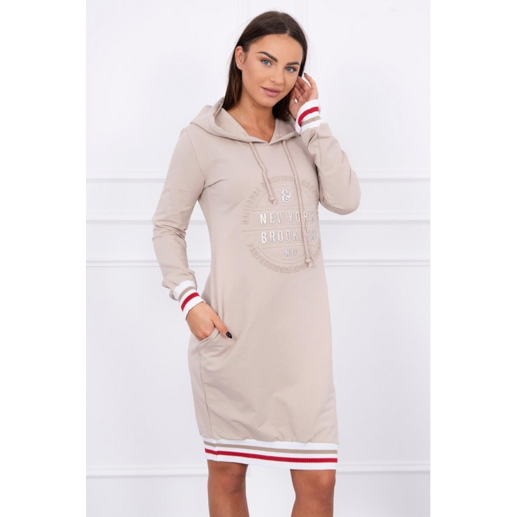 Ladies Dress Brooklyn MI62095 beige