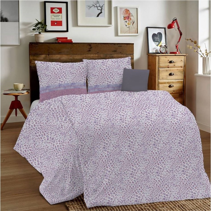 Duvet Covers MIG001 Animalier pink Made in Italy