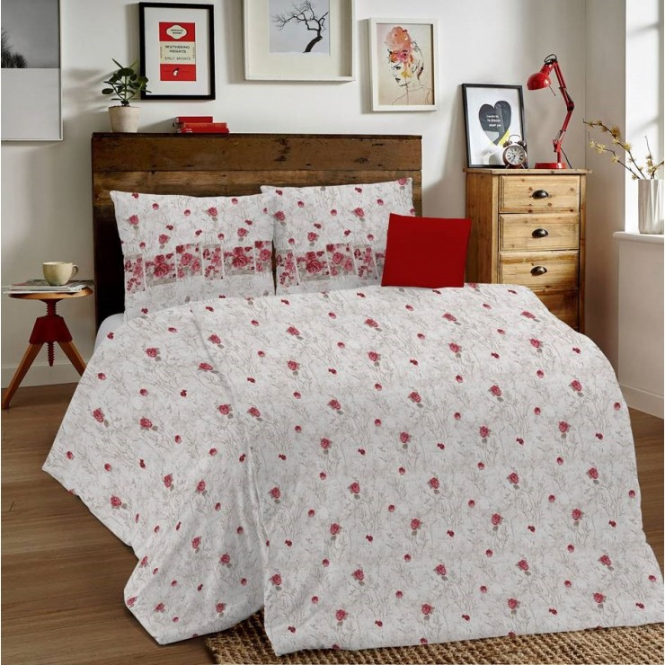 Duvet Covers MIG001 Glenda red Made in Italy