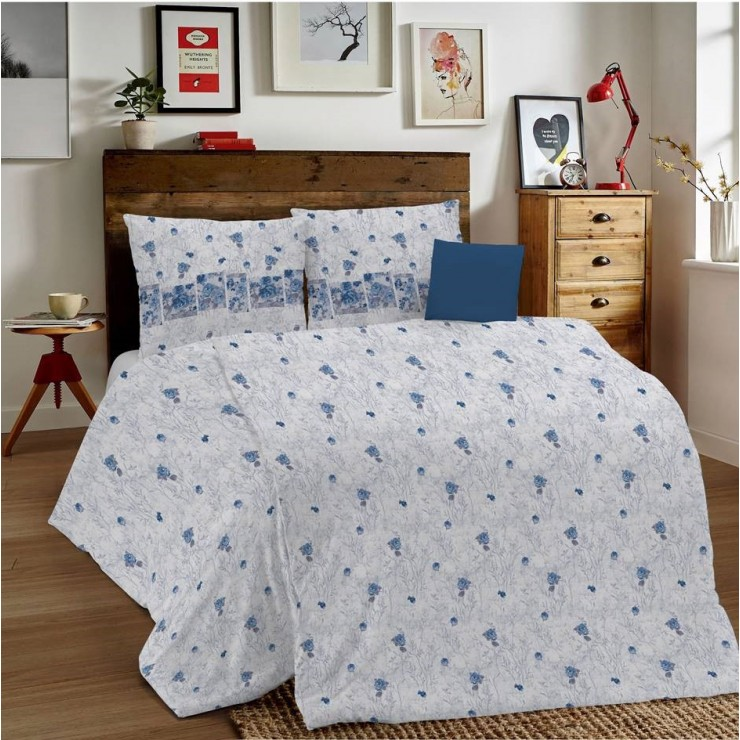 Duvet Covers MIG001 Glenda blue Made in Italy