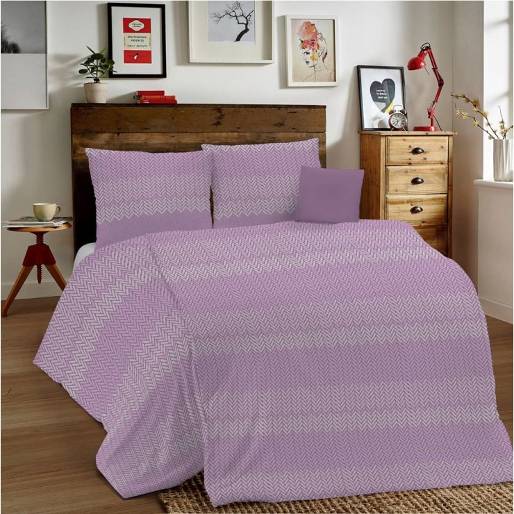 Duvet Covers MIG001 Intreccio pink Made in Italy