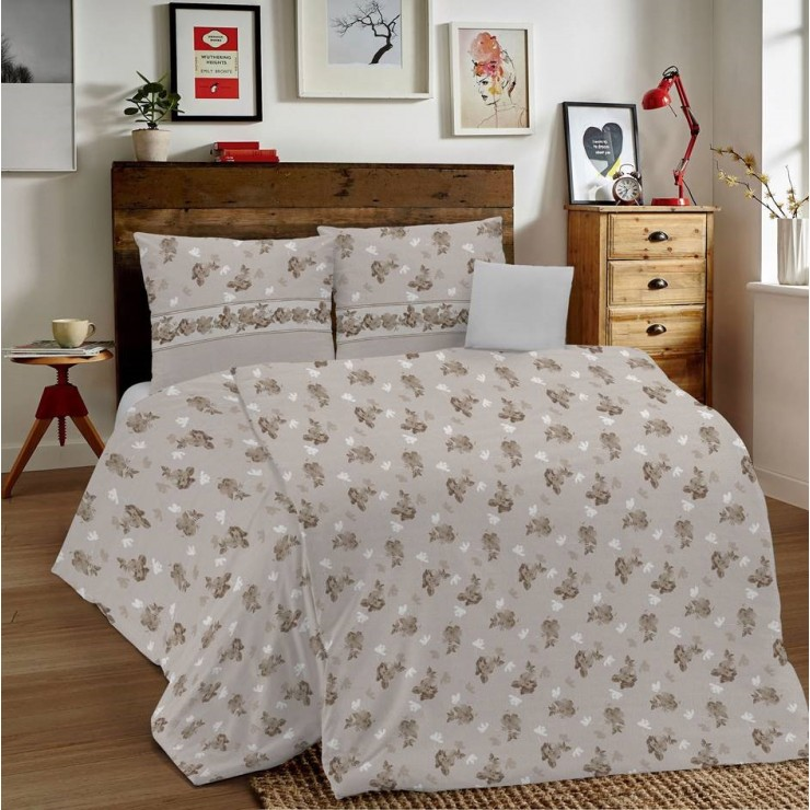 Duvet Covers MIG001 Linda beige Made in Italy