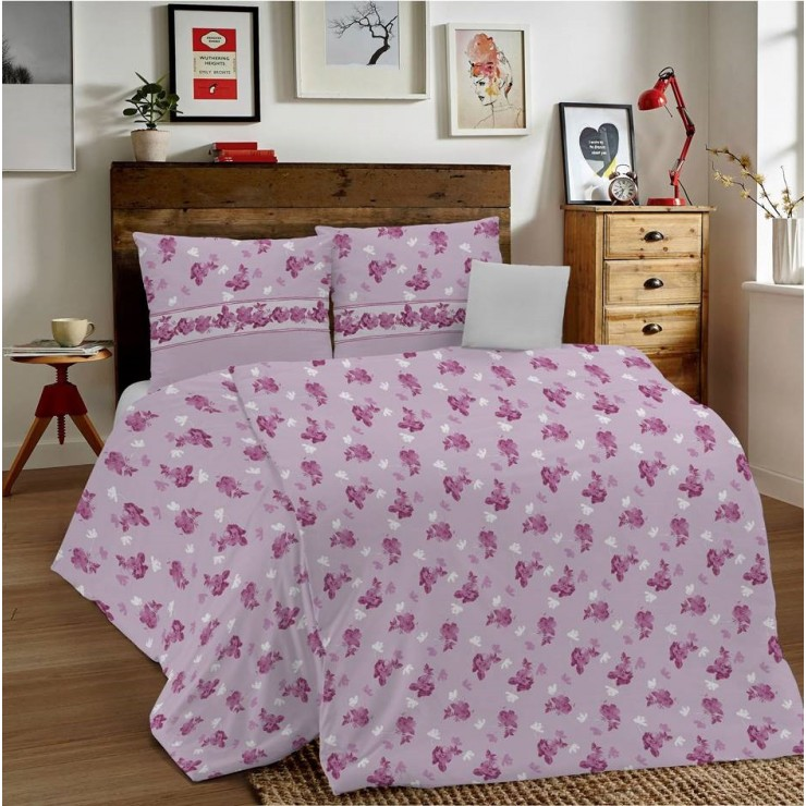 Duvet Covers MIG001 Linda pink Made in Italy