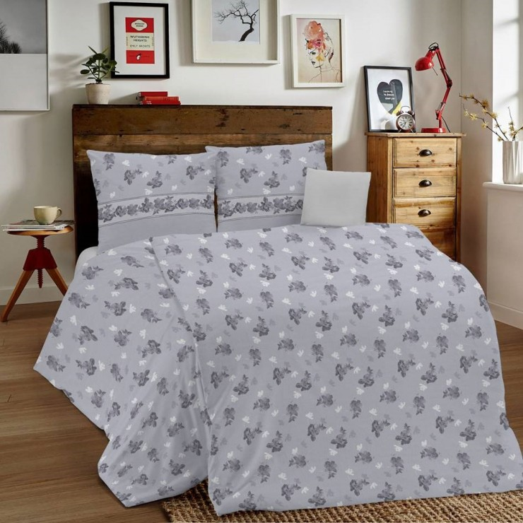 Duvet Covers MIG001 Linda gray Made in Italy