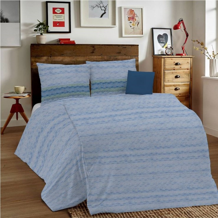 Duvet Covers MIG001 Unito blue Made in Italy