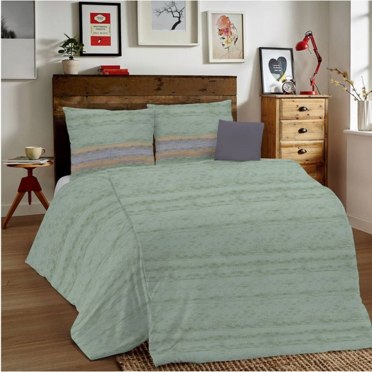 Duvet Covers MIG001 Unito green Made in Italy