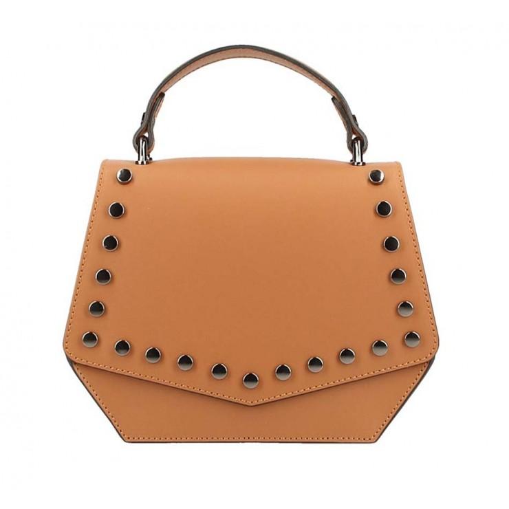 Koňaková kožená kabelka do ruky 5101