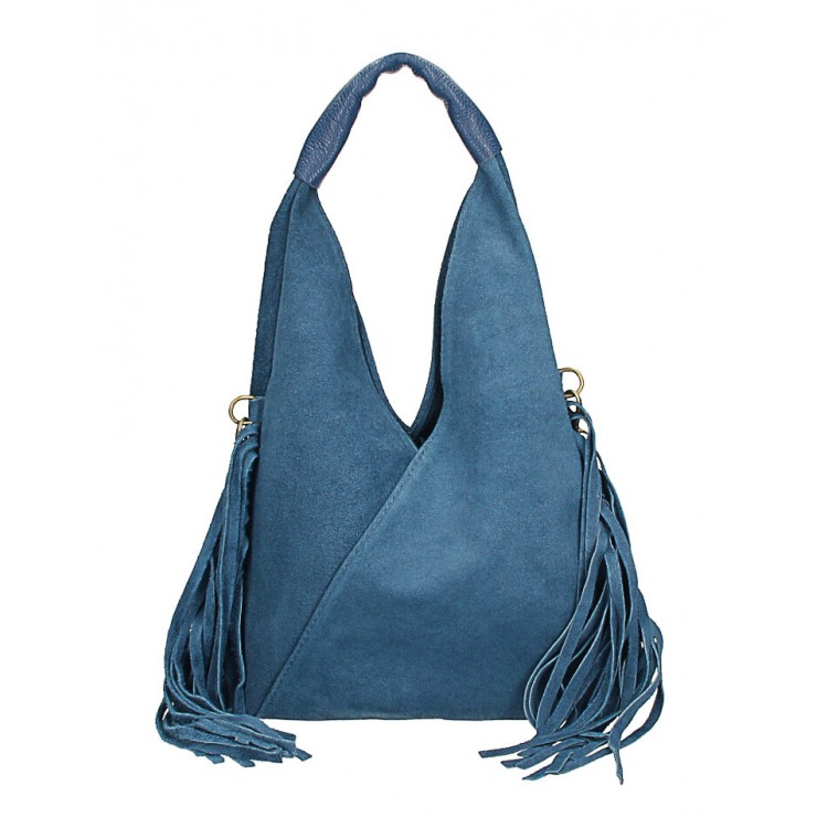 Suede Bag MI565 jeans Made in Italy