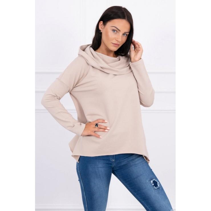 Hooded sweatshirt MI9003 beige