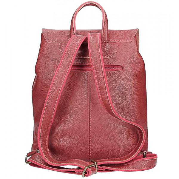 fa1d8c623 Talianska kožená kabelka do ruky 34 červená | Kabelky-shop.sk ...
