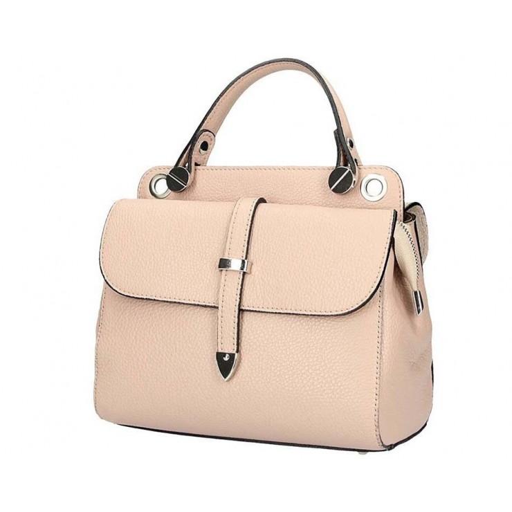 Genuine Leather Handbag 5315 pink