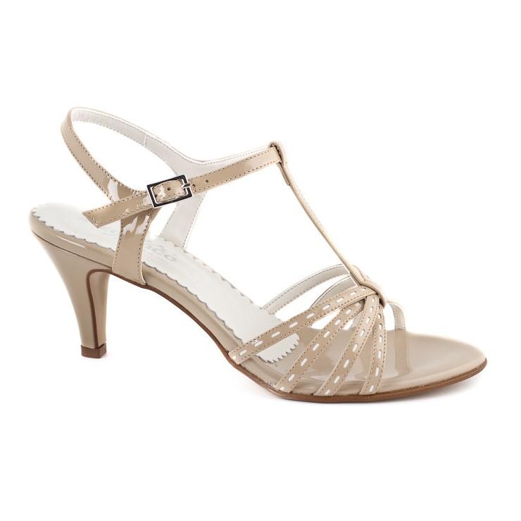 Béžové sandále 881 ZODIACO