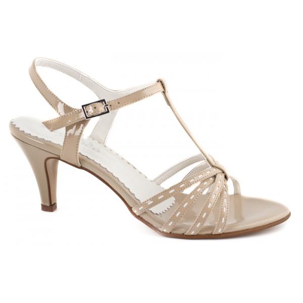 579206cc53ef Béžové sandále 881 ZODIACO - MONDO ITALIA s.r.o.