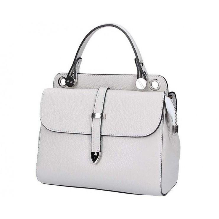 Genuine Leather Handbag 5315 gray