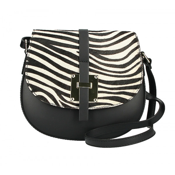 Shoulder bag with Cavallino MI209 Made in Italy zebra