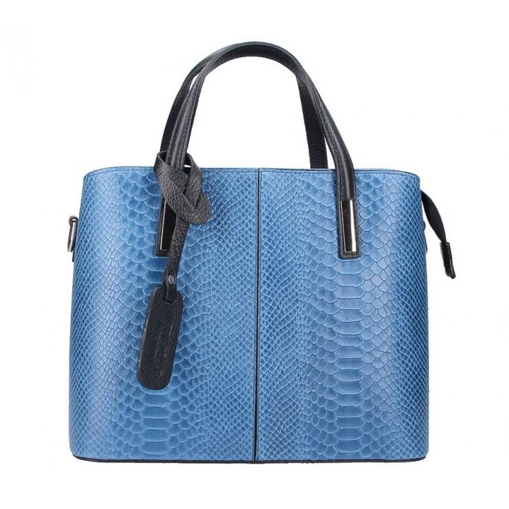 Genuine Leather Handbag 960 jeans