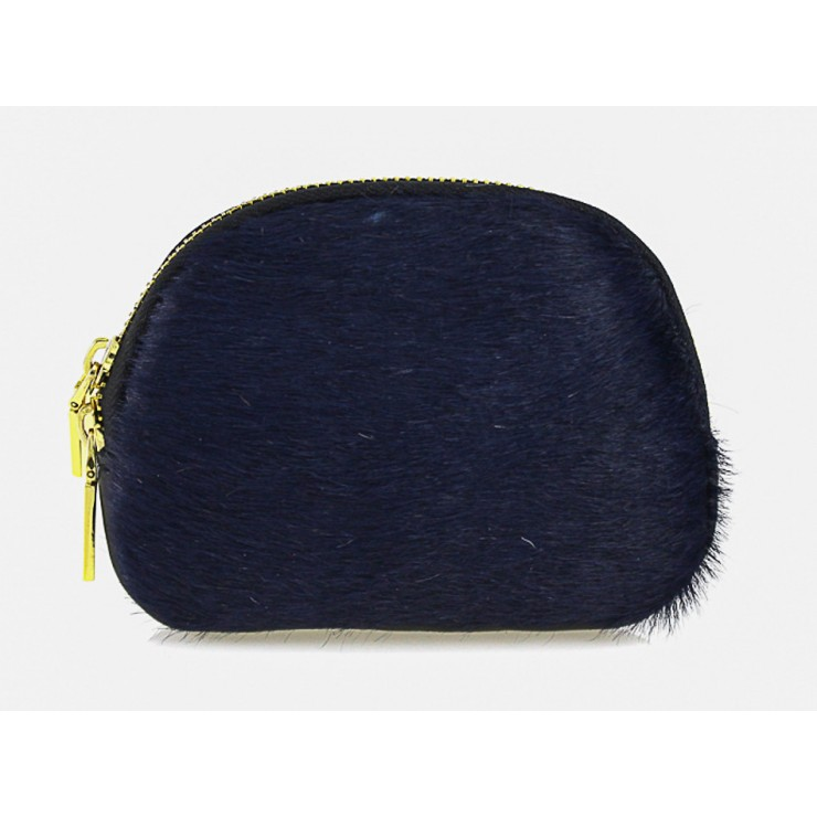 Cavallino Pouch MI216 dark blue Made in Italy