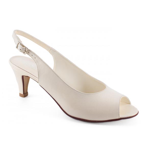 Krémové sandále 1100 ZODIACO