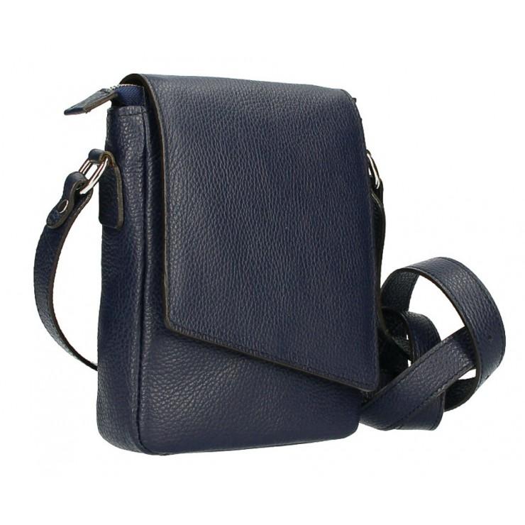 Pánská taška na rameno MI348 tmavě modrá Made in Italy