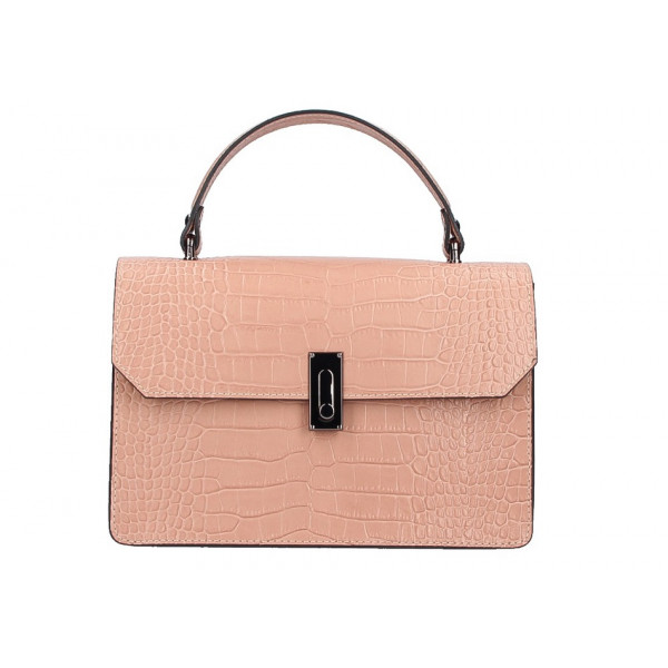 8c1c838e58 Biela kožená kabelka do ruky 5314 - MONDO ITALIA s.r.o.