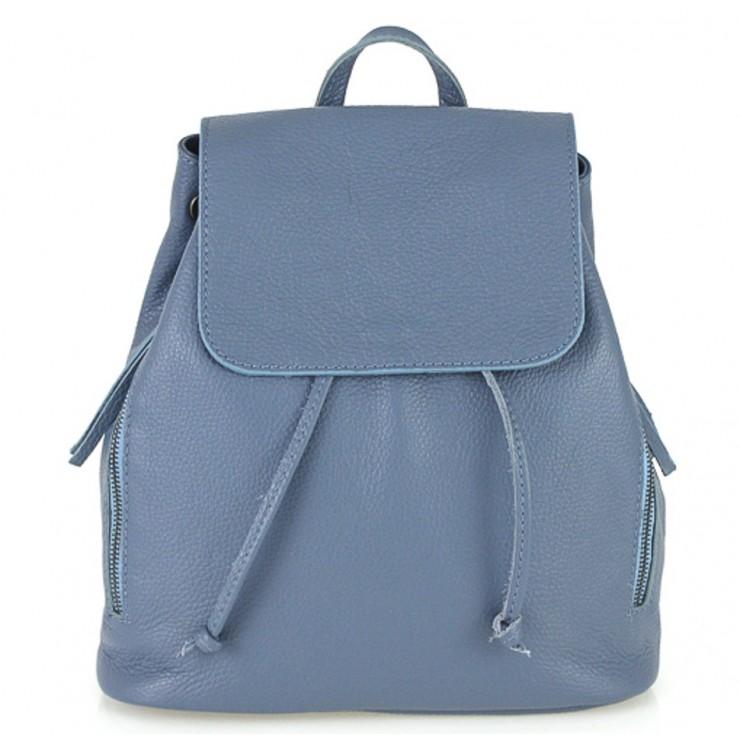 Dámsky kožený batoh 420 ceruleo Made in italy