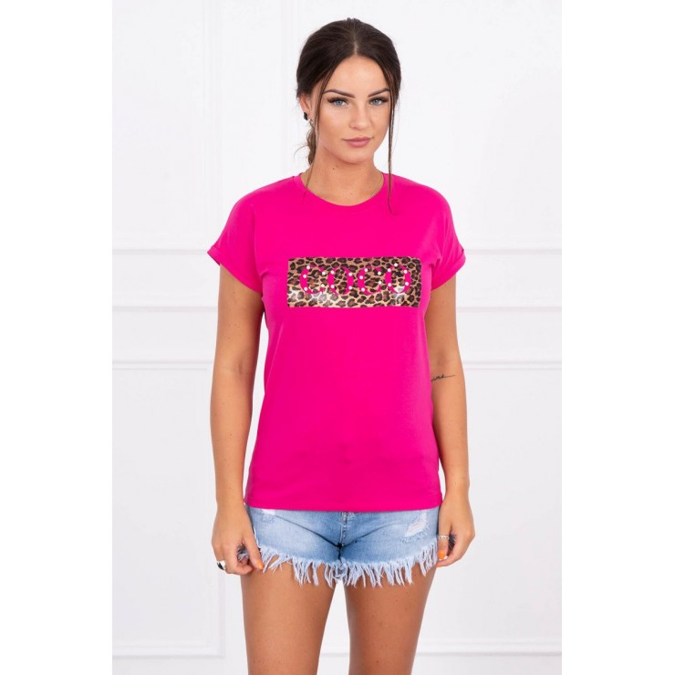 Frauen-T-Shirt COCO fuchsie