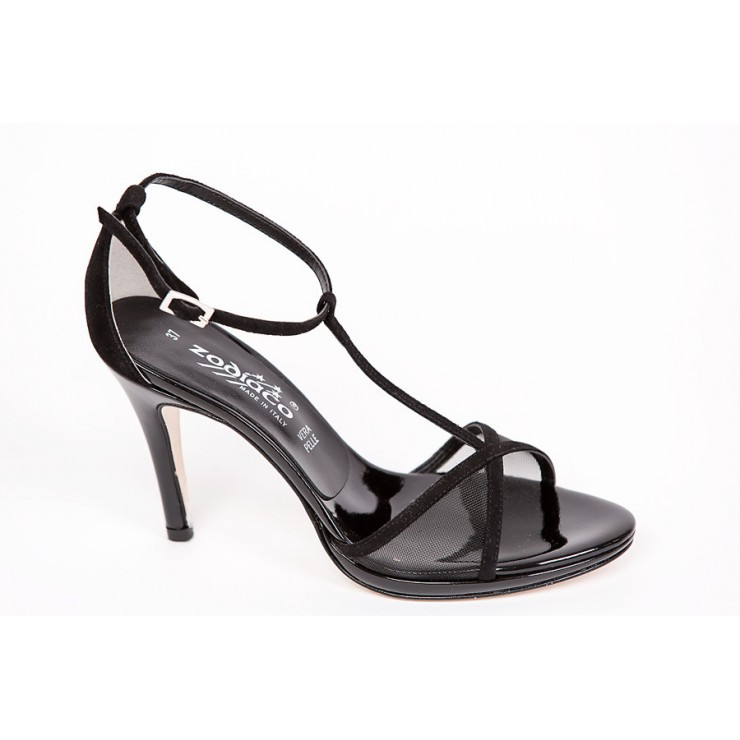 Čierne dámske sandále 1225 ZODIACO