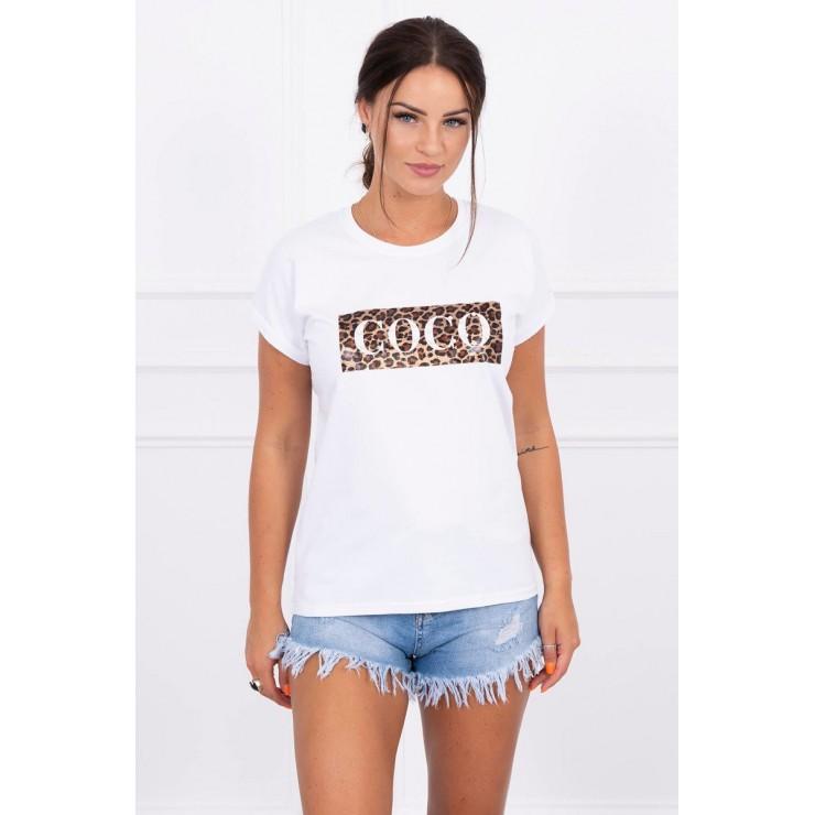 Frauen-T-Shirt COCO weiss