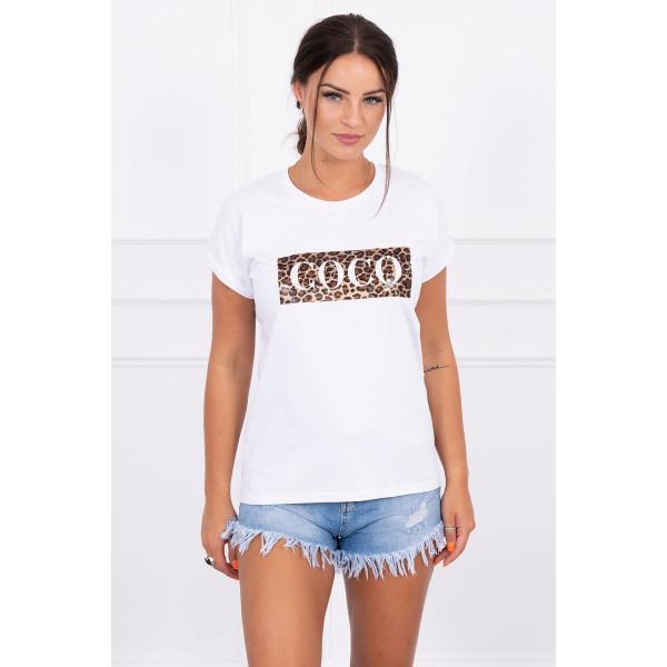 Dámske tričko COCO biele