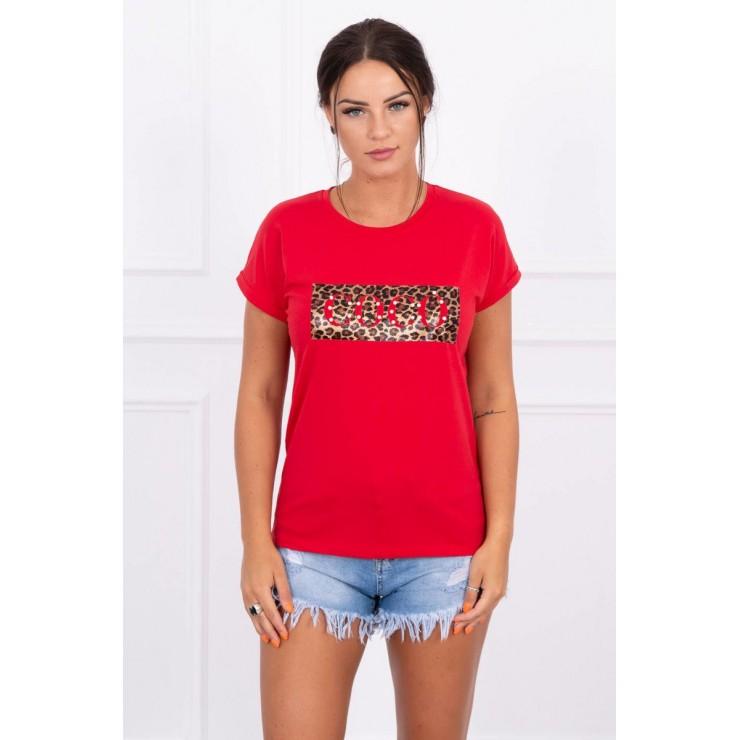 Frauen-T-Shirt COCO rot