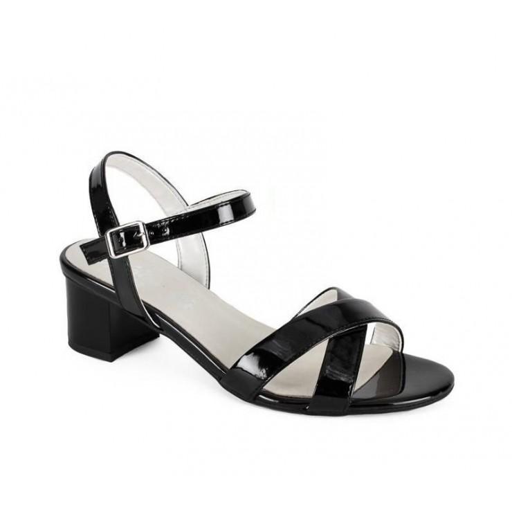 Černé sandály 1121 ZODIACO