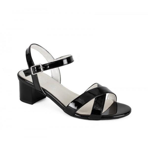 Čierne sandále 1121 ZODIACO
