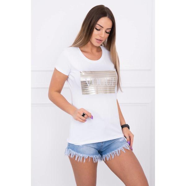 Dámske tričko SILVER VOGUE biele