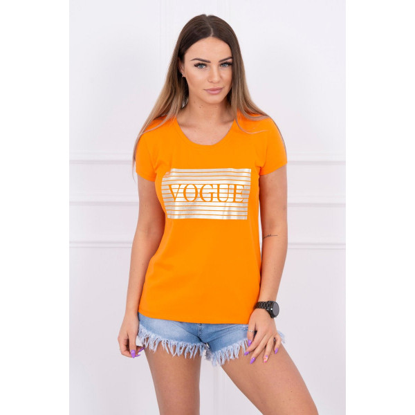 Dámske tričko SILVER VOGUE oranžové