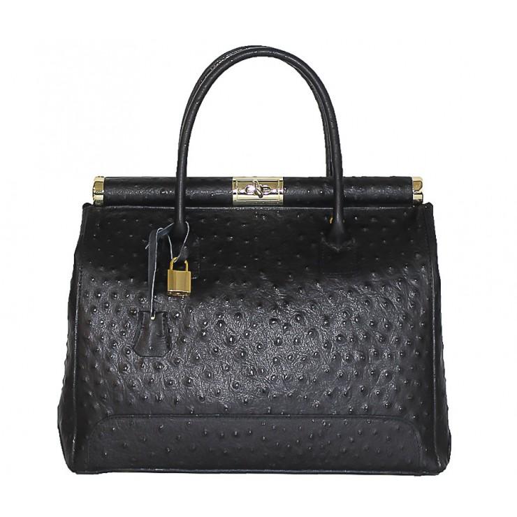 Genuine Leather Handbag 501 red