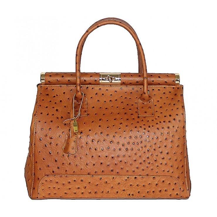 Koňaková kožená kabelka do ruky 501