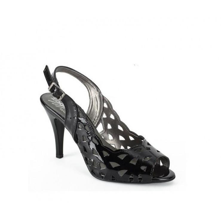 Černé sandály 1138 ZODIACO