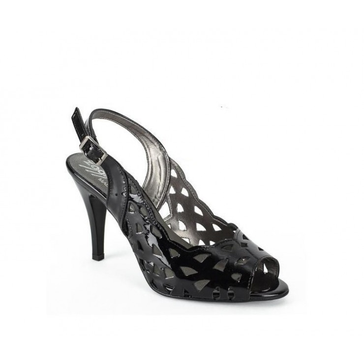 Čierne sandále 1138 ZODIACO