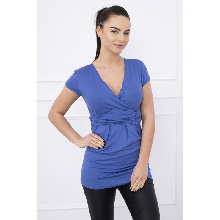 Women T-shirt MI8322 jeans