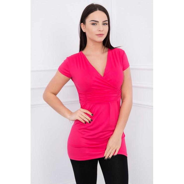 Women T-shirt MI8322 fuxia