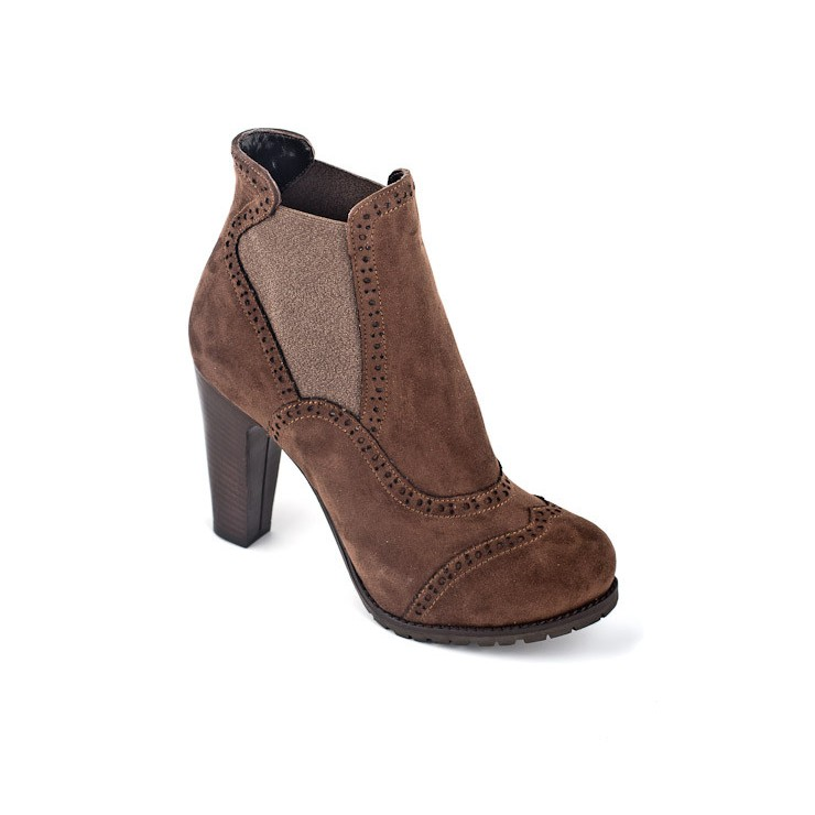 Women's shoes 810 brown Elisa Morelli