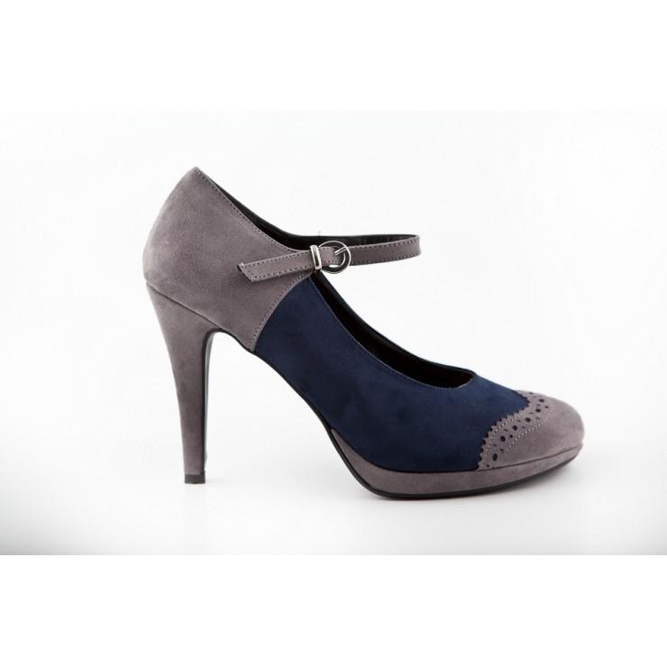 Woman high heels 229 blue Alisia Milano