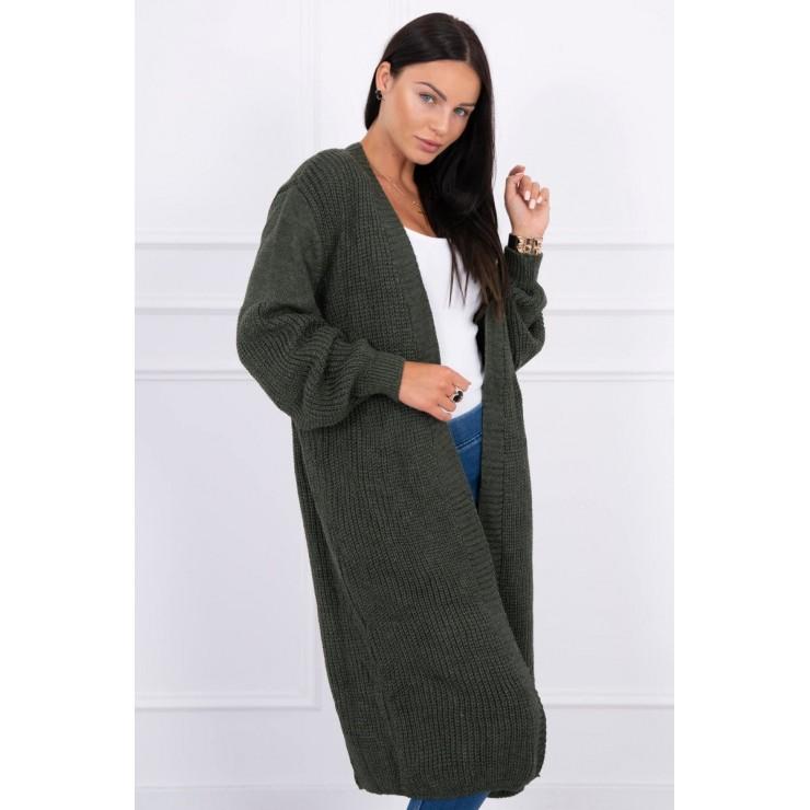 Long sweater MI2019-2 khaki