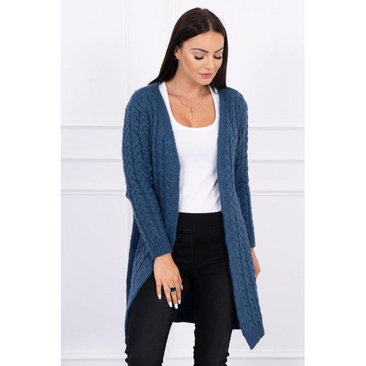 Sweater with braid pattern MI2019-14 jeans