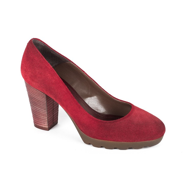 Ladies high heels 776 bordeaux Elisa Morelli