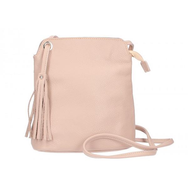 d89c5359dc Kožená kabelka na rameno 5320 ružová - MONDO ITALIA s.r.o.