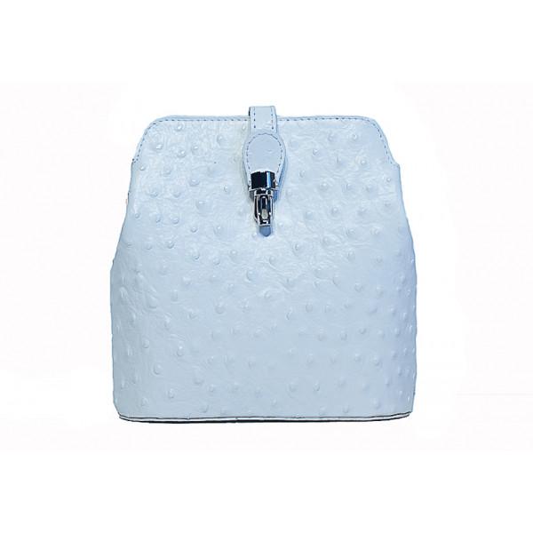 01d25b14c082 Kožená kabelka na rameno 603C biela - MONDO ITALIA s.r.o.